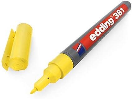 Single 1mm Bullet Tip Blue Ink Edding 361 Whiteboard Marker Pen