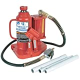 Advanced Tool Design Model  ATD-7370  12 Ton Air/Hydraulic Bottle Jack