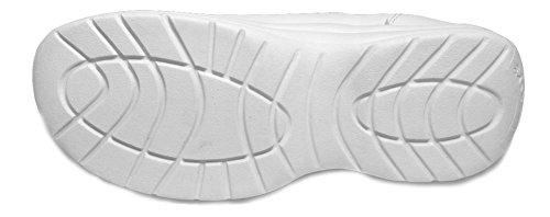 Easy Soft Womens Nurse shoes 2419 (Wide) White dvzLiy3