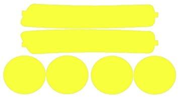 Precut Vinyl Tint Cover for 1994-1997 Acura Integra Headlights (Yellow) SlickMod