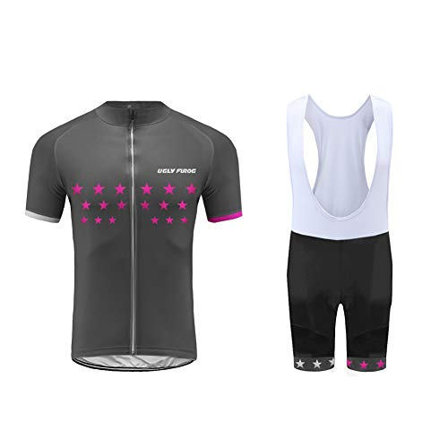 Uglyfrog Men's Short Sleeve Breathable Cycling Top for Sports Running Jersey Cycling Clothing Set Sportswear Suit Quick-Dry - Cycling Coors Jersey