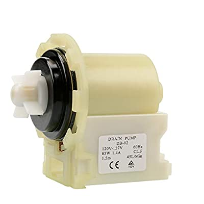 8540024 Washer Drain Pump Motor Replacement for Whirlpool Kenmore Maytag Washing Machine Parts Replaces W10130913 W10117829 W10730972 by AUKO
