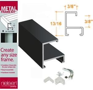 Nielsen Metal Frame Kit Accents Black 36In NIELSEN & BAINBRIDGE F23650
