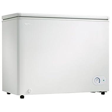 Danby DCF072A2WDB1 Chest Freezer, 7.2 Cubic Feet, White