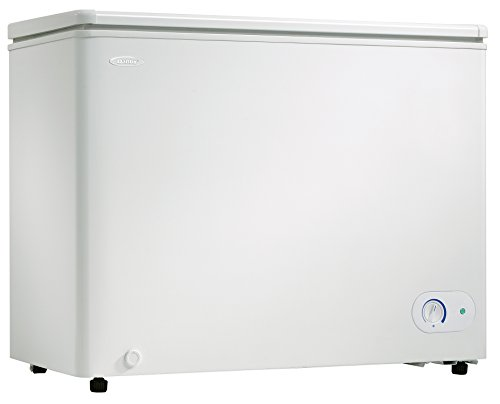 Danby DCF072A2WDB1 Chest Freezer, 7.2 Cubic Feet, White by Danby