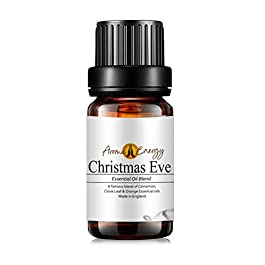 Christmas Eve (10ml) – Pure Cinnamon, Clove & Orange Essential Oil Blends – Christmas & Winter Fragrances – Aromatherapy…