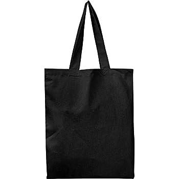 Amazon.com  BULK 12 PACK (1 Dozen) Wholesale 100% Cotton Tote Bags ... 2a9ae26a1f1f