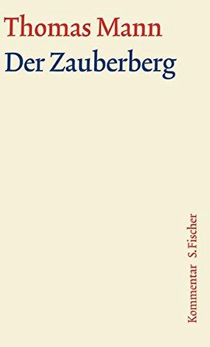 Download Der Zauberberg. Große kommentierte Frankfurter Ausgabe. Kommentarband. pdf epub