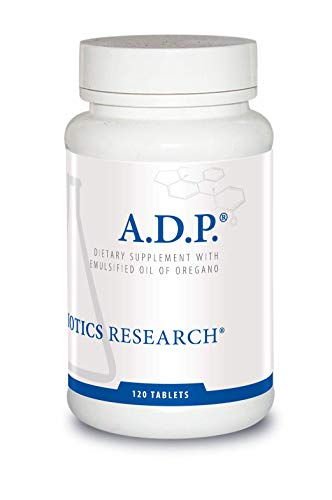 Biotics Research A.D.P.  - Highly Concentrated Oil of Oregano, Optimal Absorption and Delivery. Antioxidant, Supports Microbial Balance