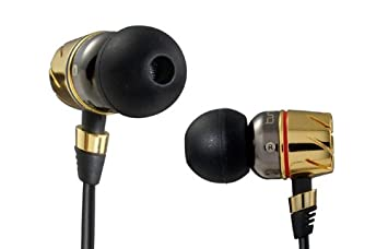 Monster Cable Turbine PRO - Auriculares in-ear, dorado