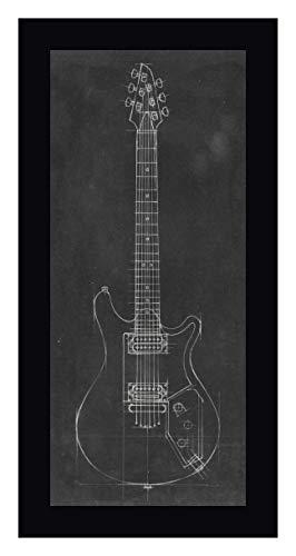 Electric Guitar Blueprint II by Ethan Harper - 19