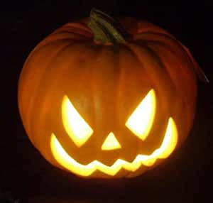 halloween jack o lantern pumpkin electric light garden outdoor. Black Bedroom Furniture Sets. Home Design Ideas