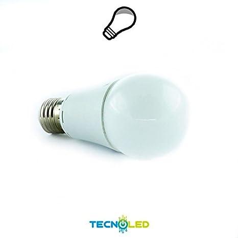 Bombilla Led Estandar 10W E27 4000/4500K 12V Ac/Dc: Amazon.es: Iluminación