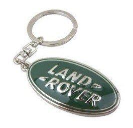 Tiara Cromado Diseño 3d coche Logo - Llavero Land Rover ...