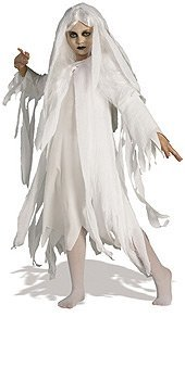 Ghostly Spirit Child Costume White - Medium