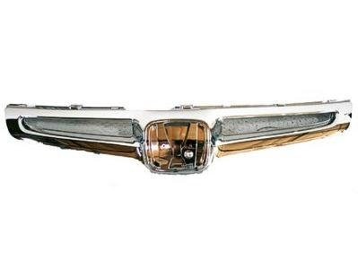 GRILLE Honda Accord ALL CHROME; SEDAN. (WITHOUT MFR MANUFACTURER EMBLEMS / LOGOS. THEY ARE TRADEMARK PROTECTED.)