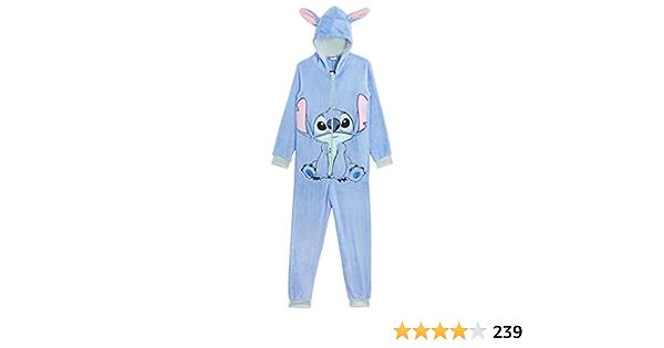 Disney Stitch Pijama de Una Pieza para Mujer Hombre, Monos ...