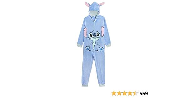 Disney Stitch Pijama Entero para Niñas De Una Pieza Super ...