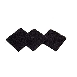 Exaco ECO 2500 Pack of Three Replacement Carbon Filters for Kitchen Compost Collector