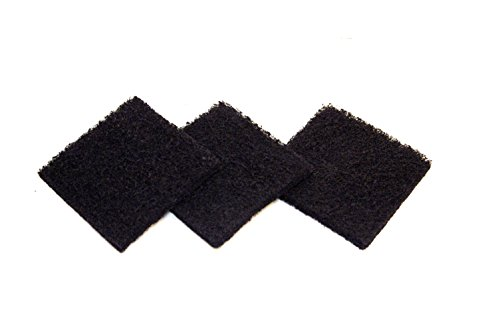 (Exaco ECO 2500 Pack of Three Replacement Carbon Filters for Kitchen Compost)