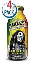 Marleys Mellow Mood Green Tea with Honey -- 16 fl oz Each / Pack of 4