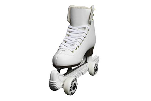 Rollergard ROC376WH ROC-N-Roller Figure Skate Rolling Guard, White (Pack of 2)