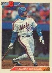1992 Bowman Baseball Card #10 Howard Johnson