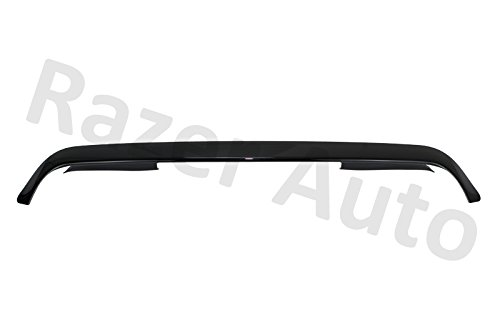 Air Deflector Bug (11-15 Dodge Ram 2500 / 3500 Front Air Deflector Smoke Black Hood Guard Bug Deflector)