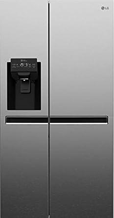 LG GSL6611PS Independiente 601L A+ Acero inoxidable nevera puerta lado a lado - Frigorífico side-