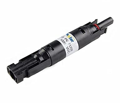 Neu MC4 In-line Sicherung Stecker 1000 VDC Stecker auf Fem PV Solar Sicherung