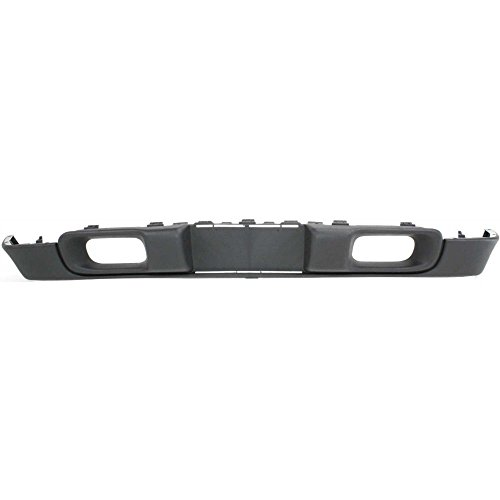 Lower Air Deflector for Chevrolet S10 Pickup 98-04 Front Textured 4WD W/Fog Light Holes Exc. Ls Appearance Pkg