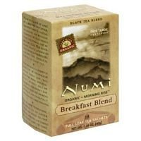 Numi, Tea Breakfast Blend Organic Whole Trade Guarantee, 18 Count