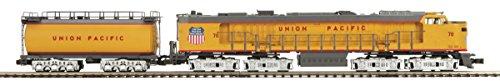 MTH 1:48 O Scale UP Veranda Turbine #75 3 Rail Engine Train w/ Tender #20-2185-1