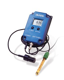 Hanna Instruments HI 991404 pH/EC/TDS/Temperature Monitor, Low Range EC and TDS by Hanna Instruments