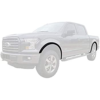For Ford F-150 2015-2017 Dawn  Style Black Front /& Rear Fender Flares