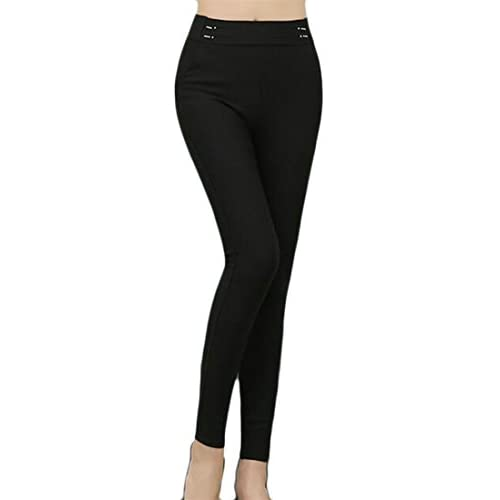 Nice Cruiize Womens High-Waist Stretch Ankle Legging Pencil Pants Leggings for sale