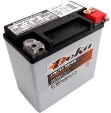 Deka Power Sports ETX14L Battery