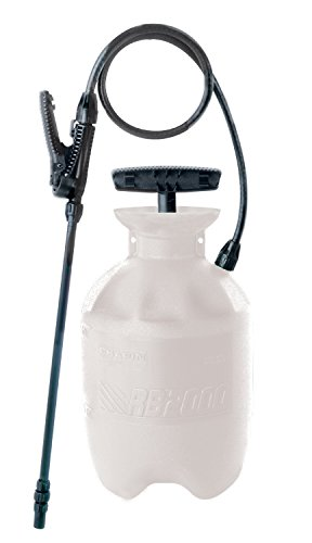 Chapin International 023883200107 Chapin 20010 1-Gallon SureSpray Sprayer for Fertilizer, Herbicides and, 1 gal, Translucent - Funnel Top Sprayer