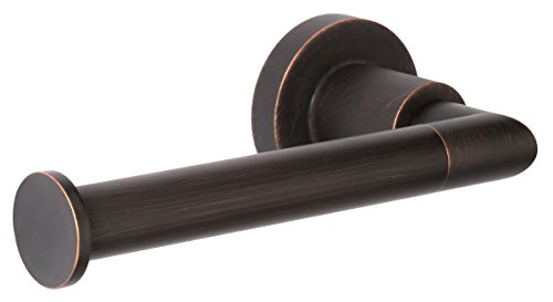 Dynasty Hardware 4024-ORB Manhattan Toilet Paper Holder Oil Rubbed Bronze (Toilet Paper Hardware)