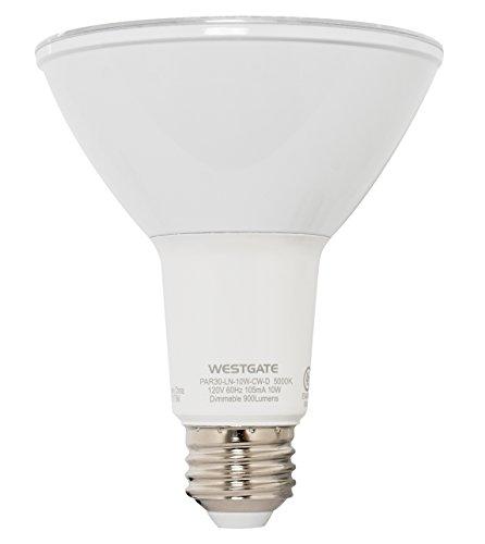 Westgate Lighting PAR30 10W Dimmable LED Light Bulb Long Neck - Best Indoor/Outdoor Flood Spot Lamp For Home Office Kitchen - UL Listed - E26 Base (1 Pack, (Par30 Long Neck Spot)