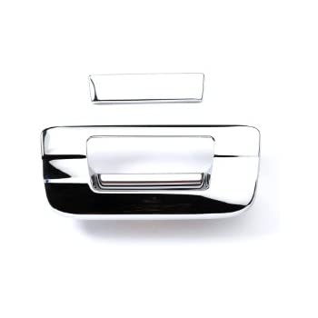 Putco 2-piece set Tailgate Handle Covers New Chrome for Toyota 401030