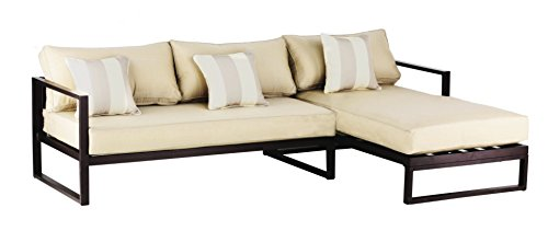 Modern Sectional Daybed (Serta Catalina Outdoor Sectional, Bronze)