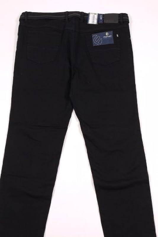 """Pionier spodnie """"PETER"""" – 5-Pocket – Comfort Fit, kolor: czarny , rozmiar: 32: Odzież"""