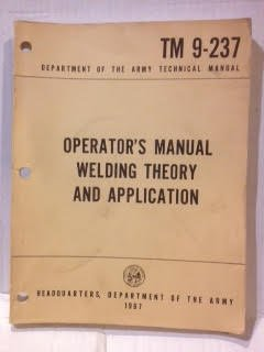 operator s manual welding theory and application department of the rh amazon com Automatic Welding Miller Welding Manuals