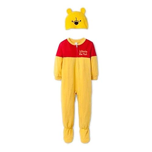 Winnie The Pooh Size 2T Fleece Costume Footed Pajama Sleeper with ()