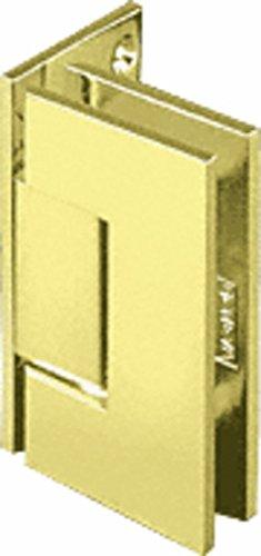 C.R. LAURENCE GEN044SB CRL Satin Brass Geneva 044 Series Wall Mount Offset Back Plate Hinge