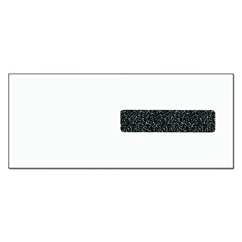 Claim Form Window Envelopes - TOPS 50941 CMS 1500 Claim Form Self-Seal Window Envelope, 4 1/8 x 9 1/2, White (Case of 2500)