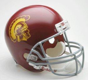 (Riddell USC Trojans Deluxe Replica Helmet)