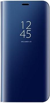 Funda® Espejo Enchapado Flip Funda para Huawei Mate 10 Pro ...