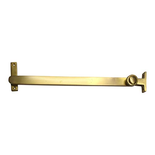 Adonai Hardware Chesulloth Brass Telescopic Casement Sliding Window Stay-Satin Brass ()